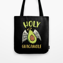 Holy Guacamole Shirt I Avocado Cinco de Mayo food Tote Bag