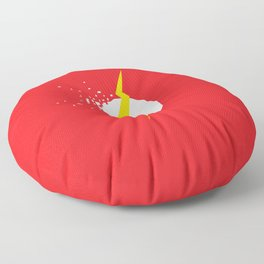 Square Heroes - Flash Floor Pillow