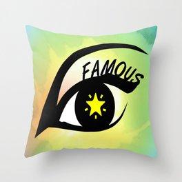 Famous Throw Pillow
