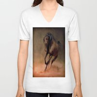 pride V-neck T-shirts featuring Pride by Robin Curtiss
