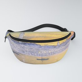 Impressions Of Provincetown Cape Cod USA Fanny Pack