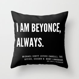 15   |  Office Quote Series  | 190611 Throw Pillow