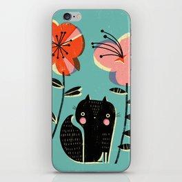 SQUIRREL & FLOWERS iPhone Skin