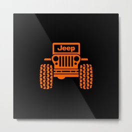 Jeep Metal Print