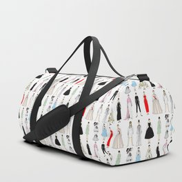 Outfits of Audrey Fashion (White) Duffle Bag