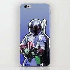 Captain Fett iPhone & iPod Skin