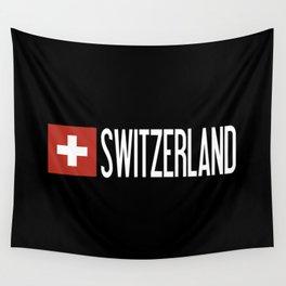 Switzerland: Swiss Flag & Switzerland Wall Tapestry