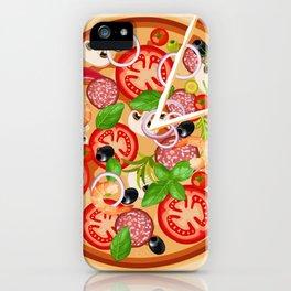 Italia Pizza time iPhone Case