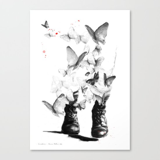 Invation Canvas Print