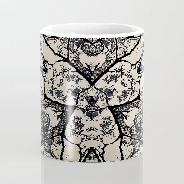 Black Flora No 1 Coffee Mug