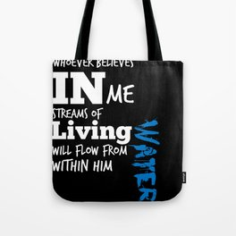 Romans 8:2 Tote Bag