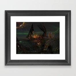 Illis and the Tarman - The Summoning Framed Art Print
