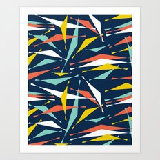Swizzle Stick - Party Girl Art Print