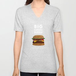 Pulp Fiction - big kahuna burger Unisex V-Neck