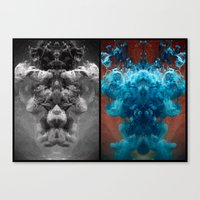 alchemy Canvas Prints featuring Alchemy by Helemm