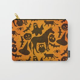 Halloween Spook Unicorn Carry-All Pouch