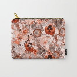 Floral Pattern III Carry-All Pouch