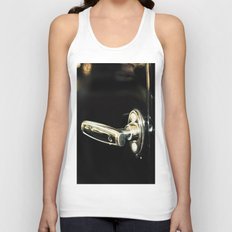 Behind the black door Unisex Tank Top