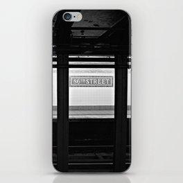 86th Street iPhone Skin