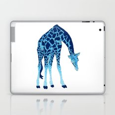 Feelin' Blue: Blue Giraffe Laptop & iPad Skin