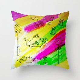 Kitchenware Throw Pillow