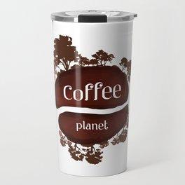 Welcome to the Coffee planet - I love Coffee Travel Mug