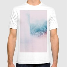 Fractions A68 MEDIUM White Mens Fitted Tee