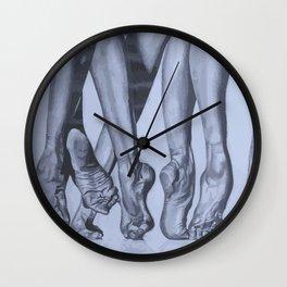 Dancers Feet Wall Clock