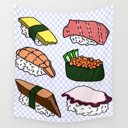 Sushi! Wall Tapestry