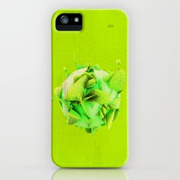 SPHeRe GLoP | RGB | GREEN iPhone Case