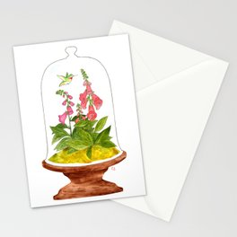 Foxglove Terrarium Stationery Cards