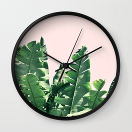Jungle palms Wall Clock