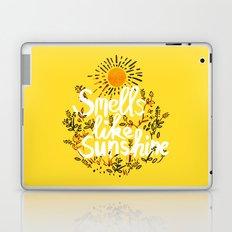 Smells Like Sunshine Laptop & iPad Skin