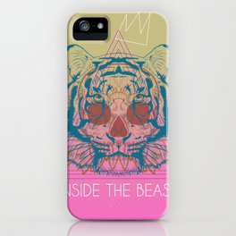 inside the beast iPhone Case