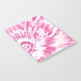 Light Pink Tie Dye Notebook