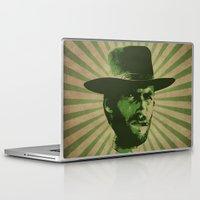 clint barton Laptop & iPad Skins featuring Clint by Durro