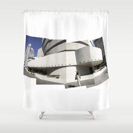 The Guggenheim – pieces of art Shower Curtain