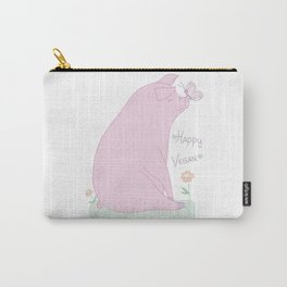Happy Vegan! Carry-All Pouch