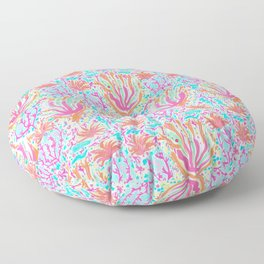 Cuban Coral Cove Floor Pillow
