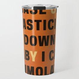 Honey - Melivns lyrics. Travel Mug