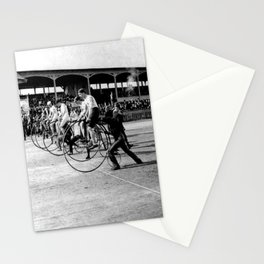 Bicycle race Stationery Cards