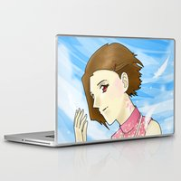 digimon Laptop & iPad Skins featuring Mark of Light by AriesNamarie