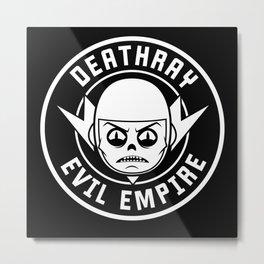 DeathRay Evil Empire Logo Metal Print