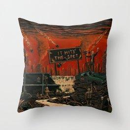 Alcotopia Throw Pillow