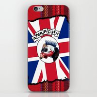anarchy iPhone & iPod Skins featuring Anarchy by oconnart