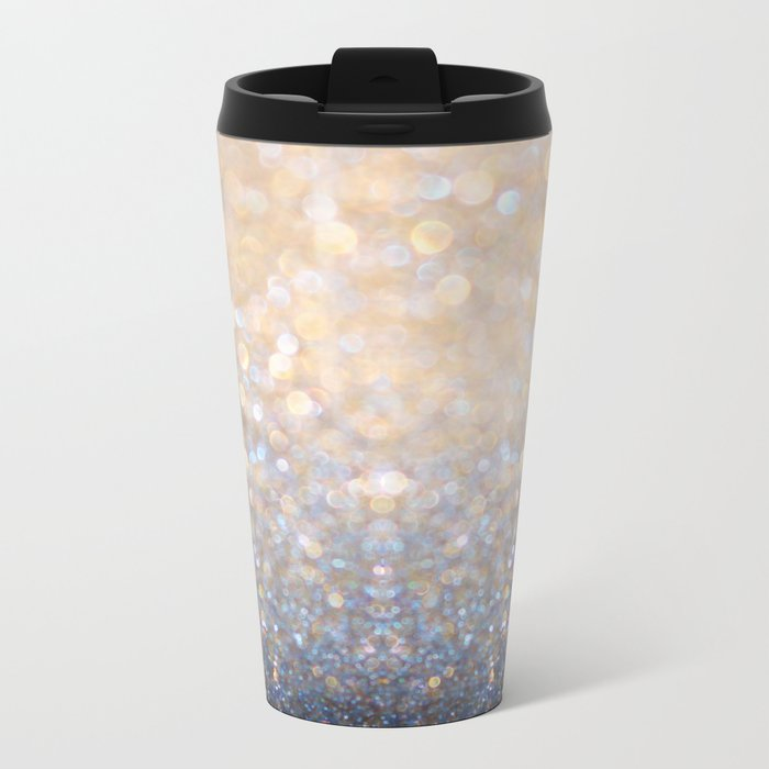 Glimmer of Light Metal Travel Mug