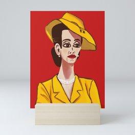 Nurse Ratched Mini Art Print