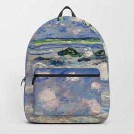 """Claude Monet """"La vague"""" Backpack"""