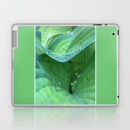 Hosta Rain Drops 2 Laptop & iPad Skin
