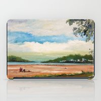 cleveland iPad Cases featuring Cleveland by Helen Syron